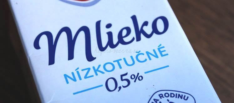 nizkotucne mlieko na kefir